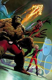 Fantastic Four Vol 5 1 Opeña Variant Textless