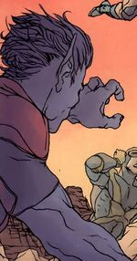 Kurt Wagner (Earth-98570) from Fantastic Four Vol 1 605.1 page --