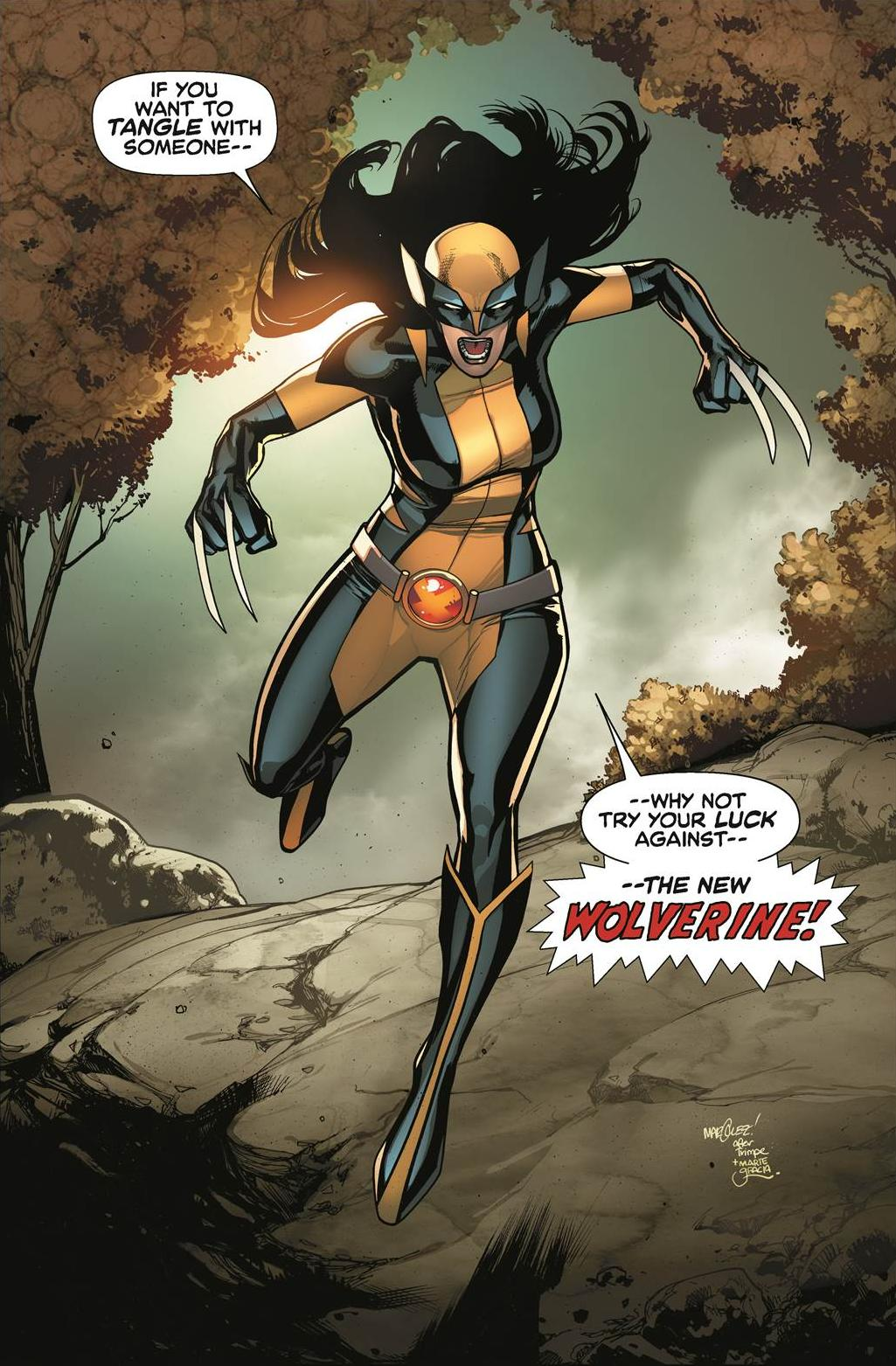 All-New Wolverine Vol 1 1 Marquez Variant Textless