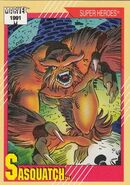 Walter Langkowski (Earth-616) from Marvel Universe Cards Series II 0001