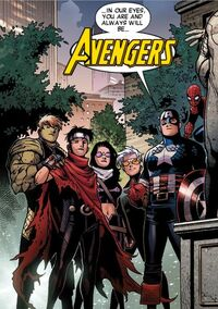 Young Avengers (Earth-616) from Avengers The Children's Crusade Vol 1 9 0001