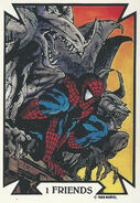 Peter Parker (Earth-616) from Todd Macfarlane (Trading Cards) 0001