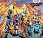 X-Men (Earth-523004) from What If Magneto Had Formed the X-Men With Professor X Vol 1 1 0001