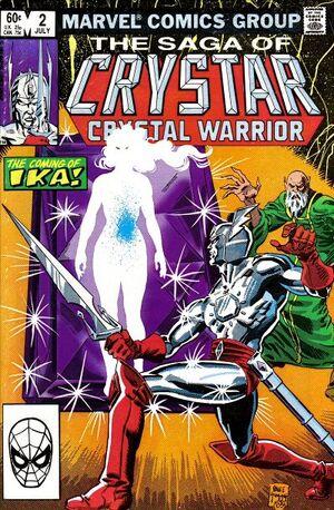 Saga of Crystar, Crystal Warrior Vol 1 2