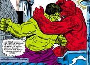 Bruce Banner (Earth-616) vs the Amphibian