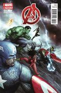 Avengers Vol 5 24.NOW Alessio Variant
