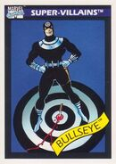 Bullseye (Lester) (Earth-616) from Marvel Universe Cards Series I 0001