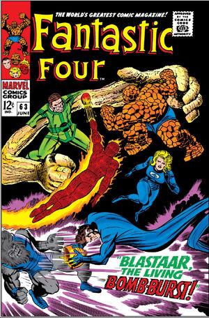 Fantastic Four Vol 1 63