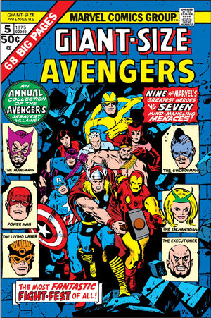 Giant-Size Avengers Vol 1 5