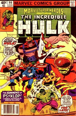Marvel Super-Heroes Vol 1 90