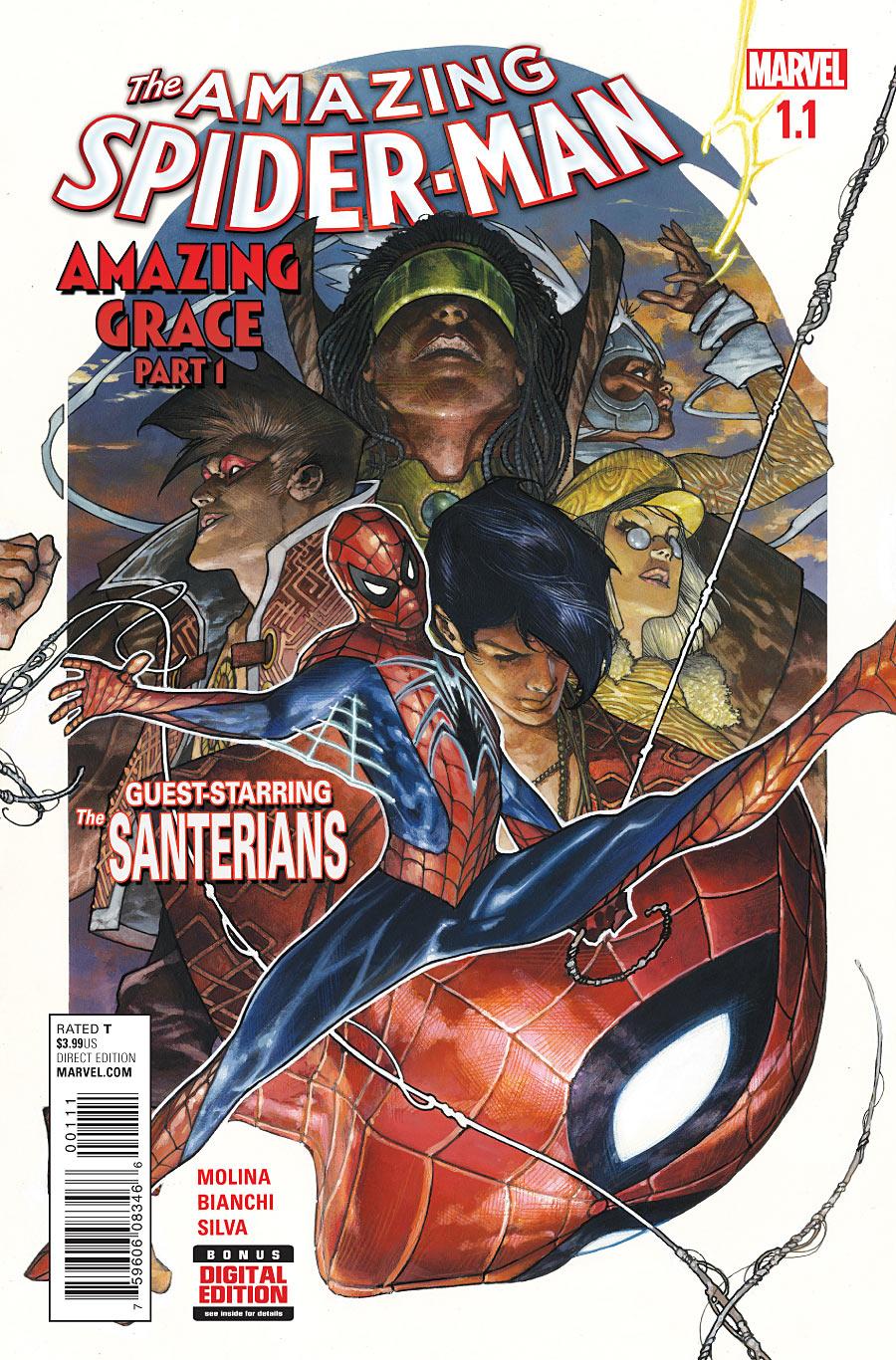Amazing Spider-Man Vol 4 1.1Fan Feed