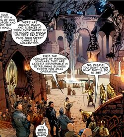 Temple of Atlas from Agents of Atlas Vol 2 1 001