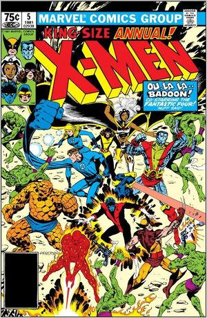 X-Men Annual Vol 1 5