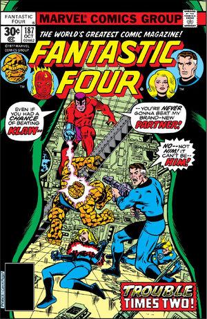 Fantastic Four Vol 1 187