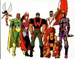 Avengers (Earth-730834) from Avengers United They Stand Vol 1 1 0001