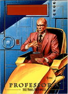 Charles Xavier (Earth-616) from Marvel Masterpieces Trading Cards 1992 0001