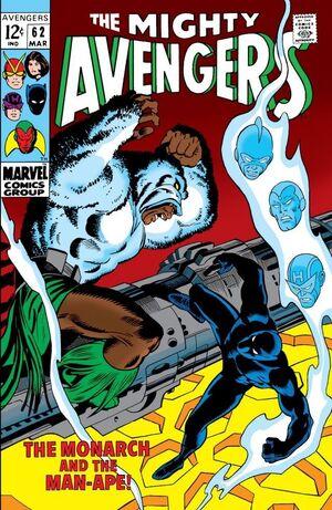 Avengers Vol 1 62