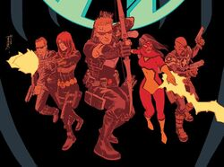 Secret Avengers (S.H.I.E.L.D.) (Earth-616) from Secret Avengers Vol 3 1 Shalvey Variant cover