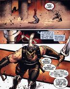 Ares valt Osborn aan vanwege zijn verraad aan Ares (Siege-2)
