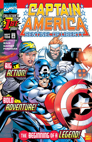 Captain America Sentinel of Liberty Vol 1 1