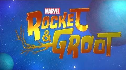 Dream Machine Marvel's Rocket & Groot Disney XD