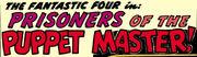 Fantastic Four Vol 1 8 Title