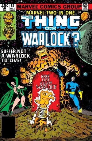 Marvel Two-In-One Vol 1 63