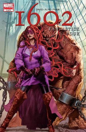Marvel 1602 Fantastick Four Vol 1 3