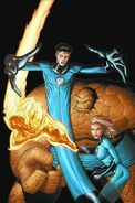 Marvel Encyclopedia Vol 1 Fantastic Four Textless