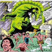 Godzilla (Earth-616) mutated form from Iron Man Vol 1 193