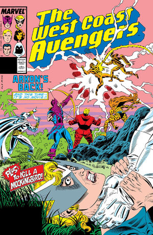 West Coast Avengers Vol 2 31