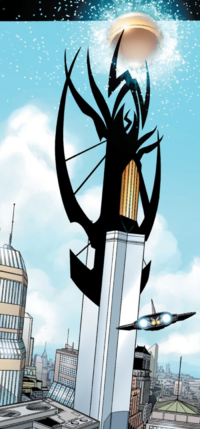Avengers Tower from New Avengers Vol 1 10 001