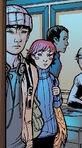 Mark Sheppard (Earth-616) and Megan Gwynn (Earth-616) from New X-Men Vol 2 5 0001