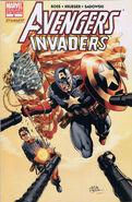 Avengers Invaders Vol 1 2 Perkins Variant