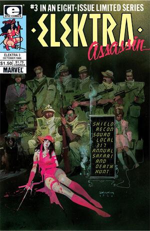 Elektra Assassin Vol 1 3