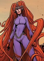 Medusalith Amaquelin (New Attilan) (Earth-61610) from Inhumans Attilan Rising Vol 1 3 001