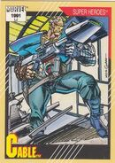 Nathan Summers (Earth-616) from Marvel Universe Cards Series II 0001