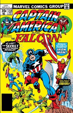 Captain America Vol 1 218