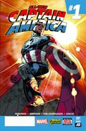All-New Captain America Vol 1 1 Second Printing Variant