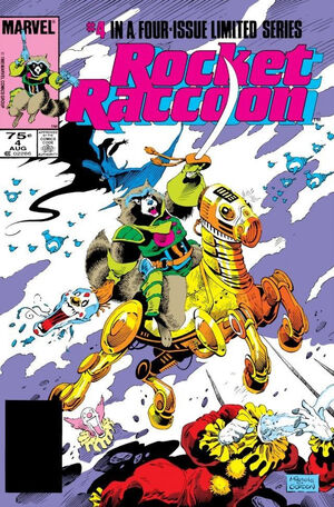 Rocket Raccoon Vol 1 4