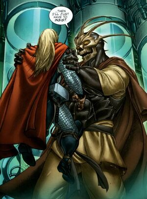 Taneleer Tivan (Earth-616) from Astonishing Thor Vol 1 4