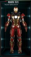 Iron Man Armor MK XVII (Earth-199999)