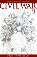Civil War Vol 1 1 Sketch Variant