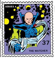 Watcher Marvel Value Stamp