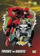 Frank Castle and Matthew Murdock (Earth-616) from Marvel Universe Cards Series III 0001