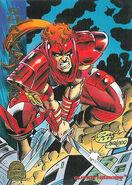 Gaveedra Seven (Mojoverse) from Marvel Universe Trading Cards 1994 Set 0001