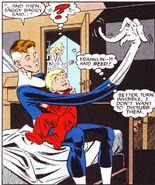 Reed and Franklin Richards (Earth-616) from Fantastic Four vs the X-Men Vol 1 3