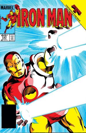 Iron Man Vol 1 197