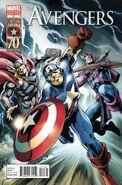 Avengers Vol 4 11 Captain America 70th Anniversary Variant