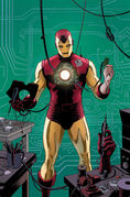 Hawkeye Vol 4 10 Many Armors of Iron Man Variant Textless
